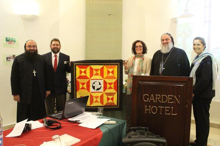 Quilt gifted to Syriac Orthodox Church